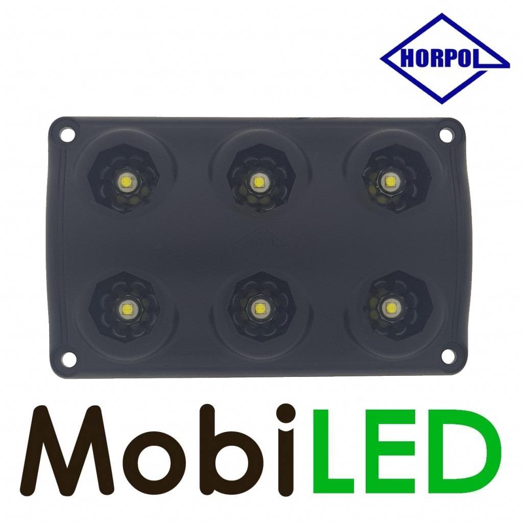 HORPOL Binnenverlichting zwart zonder schakelaar 12-24 volt