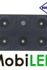 HORPOL Binnenverlichting zwart met schakelaar 12-24 volt