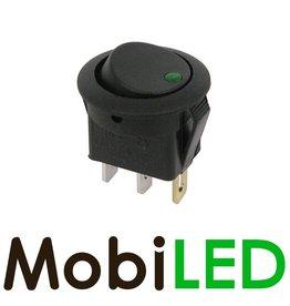 Interrupteur LED 20 Amp 12V vert
