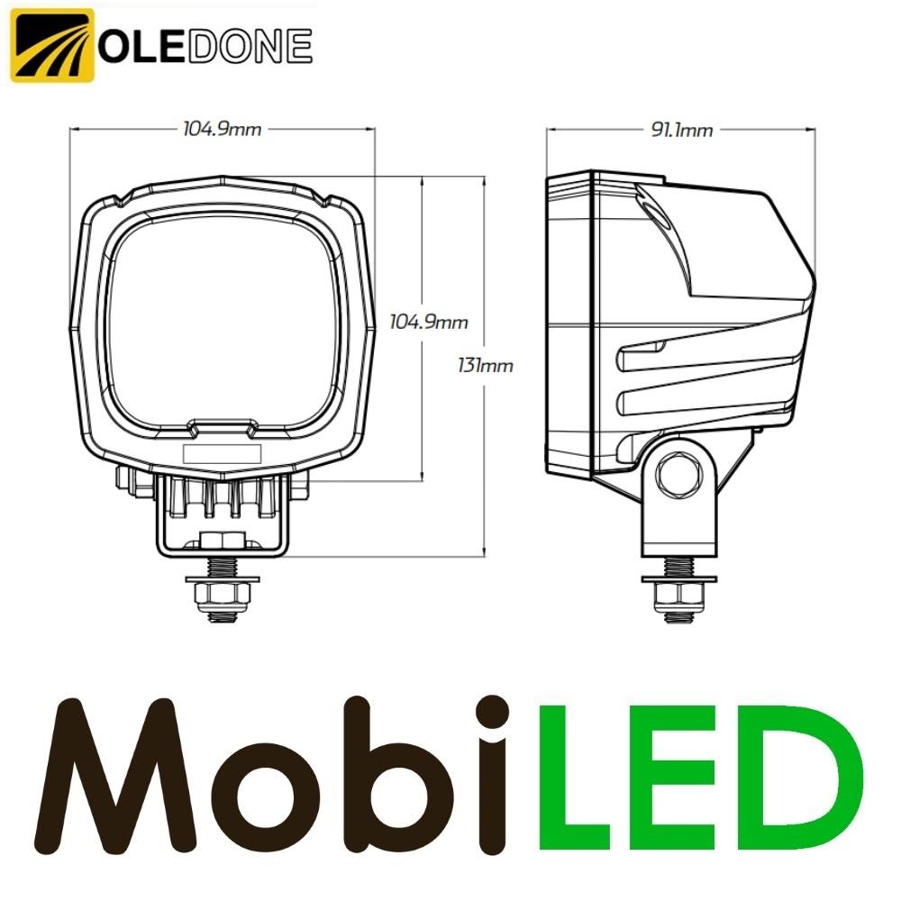 OLEDONE Lampe de travail résistante 42 watt CREE Oledone