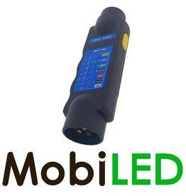Testeur d'éclairage de remorque 7 plots 12V (ISO 1724)