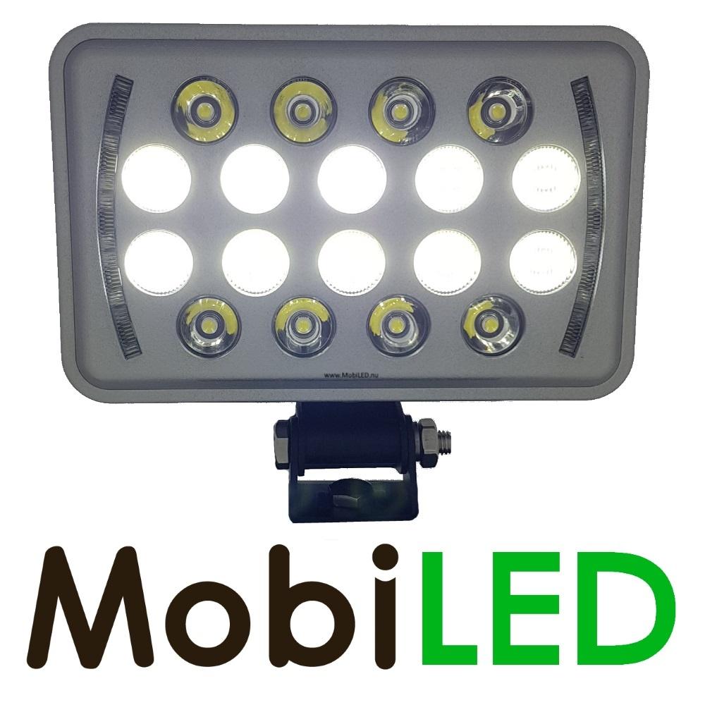 Ultra platte werklamp 54W met H4 connector