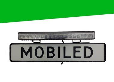 Barre LED de plaque d'immatriculation M-LED