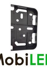 Kentekenplaathouder zwart kunststof model click