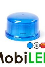 Juluen Gyrophare à DEL bleue avec aimant, cordon gondolé et fiche pour allume-cigare 12V/24V