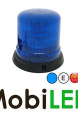 Juluen B14 Zwaailamp/Flitslamp  14 patronen Magneet blauw 10-30 Vdc R65