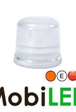 Juluen Juluen B14 Orange/Clair Gyrophare / Lampe flash 11 motifs à montage fixe 10-30 Vdc  R65 Classe 1
