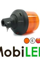Juluen Juluen B14 Gyrophare / Lampe flash 11 motifs Pied montage DIN 10-30 Vdc  R65 Classe 1