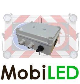 Boîte de contrôle pour quatre lampes flash