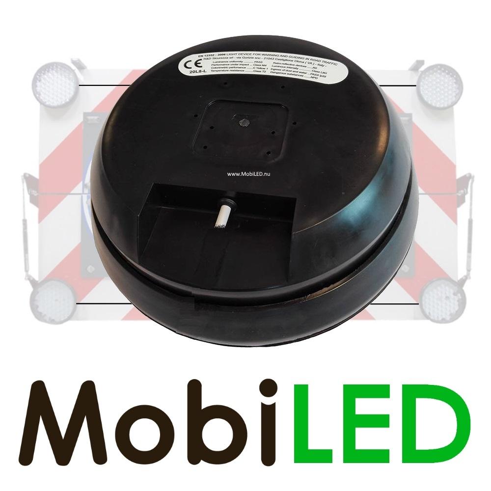 Ensemble complet de flashs à LED robustes de 200 mm avec boîtier de commande