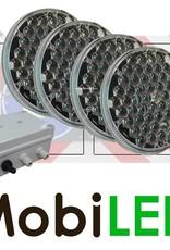 Ensemble de flashs modèle plat 200mm avec boîtier de commande