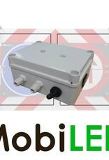 4x flash 80MM avant montage avec boîtier de commande