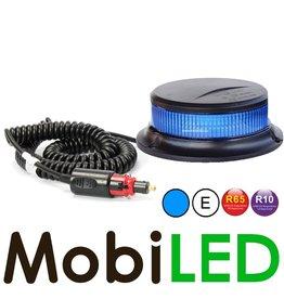 Flitslamp met blauwe lens UFO 27w magneetvoet