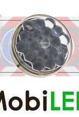 M-LED Feu clignotant M-LED 100mm (12 VOLTS) non préprogrammé