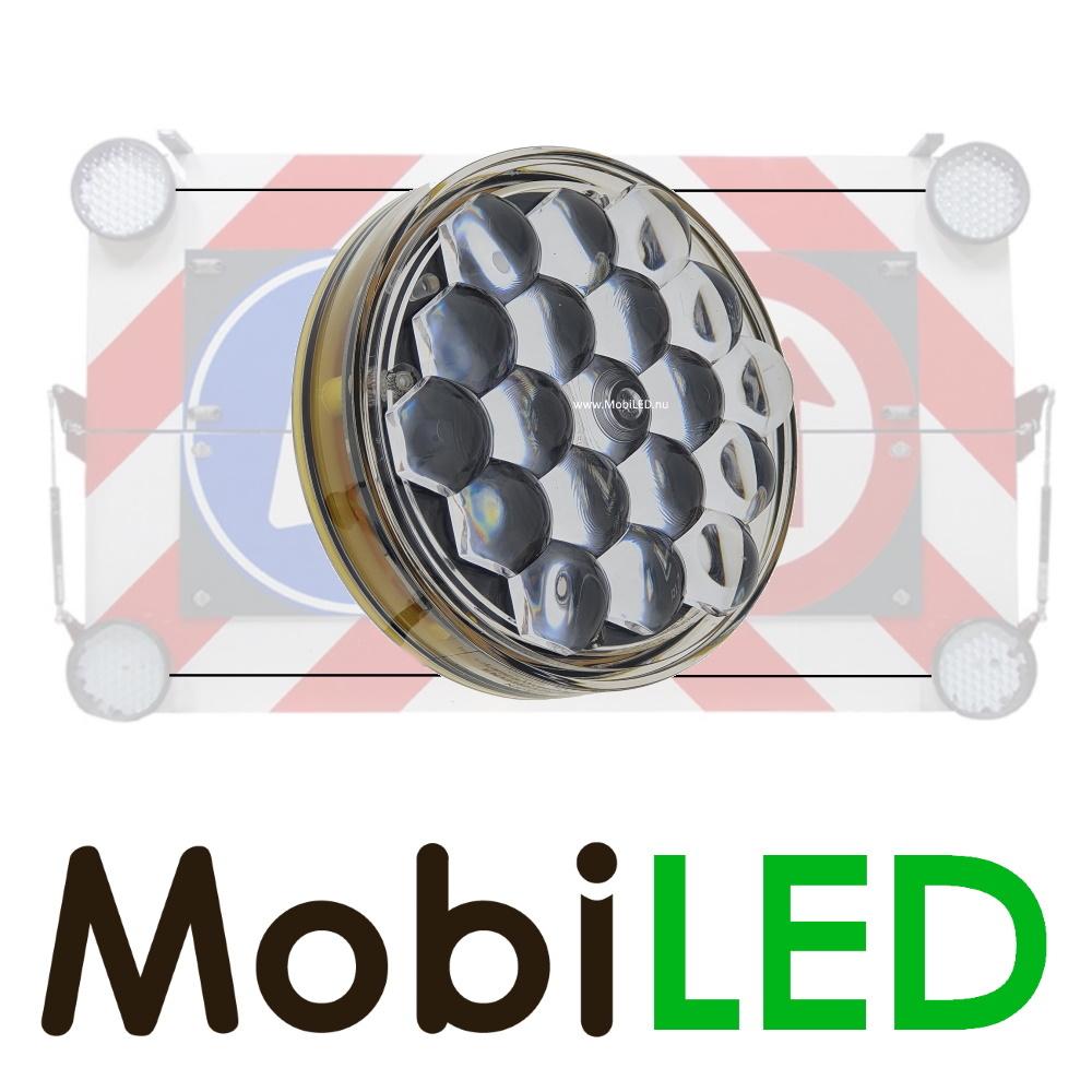 M-LED SET Flash 100mm avec boîtier de contrôle (12 volts) ambre