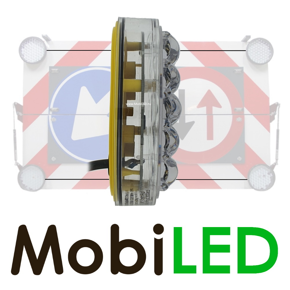 M-LED M-LED Set 4 Flitser 100mm  (12-24 VOLT)  voor actieraam