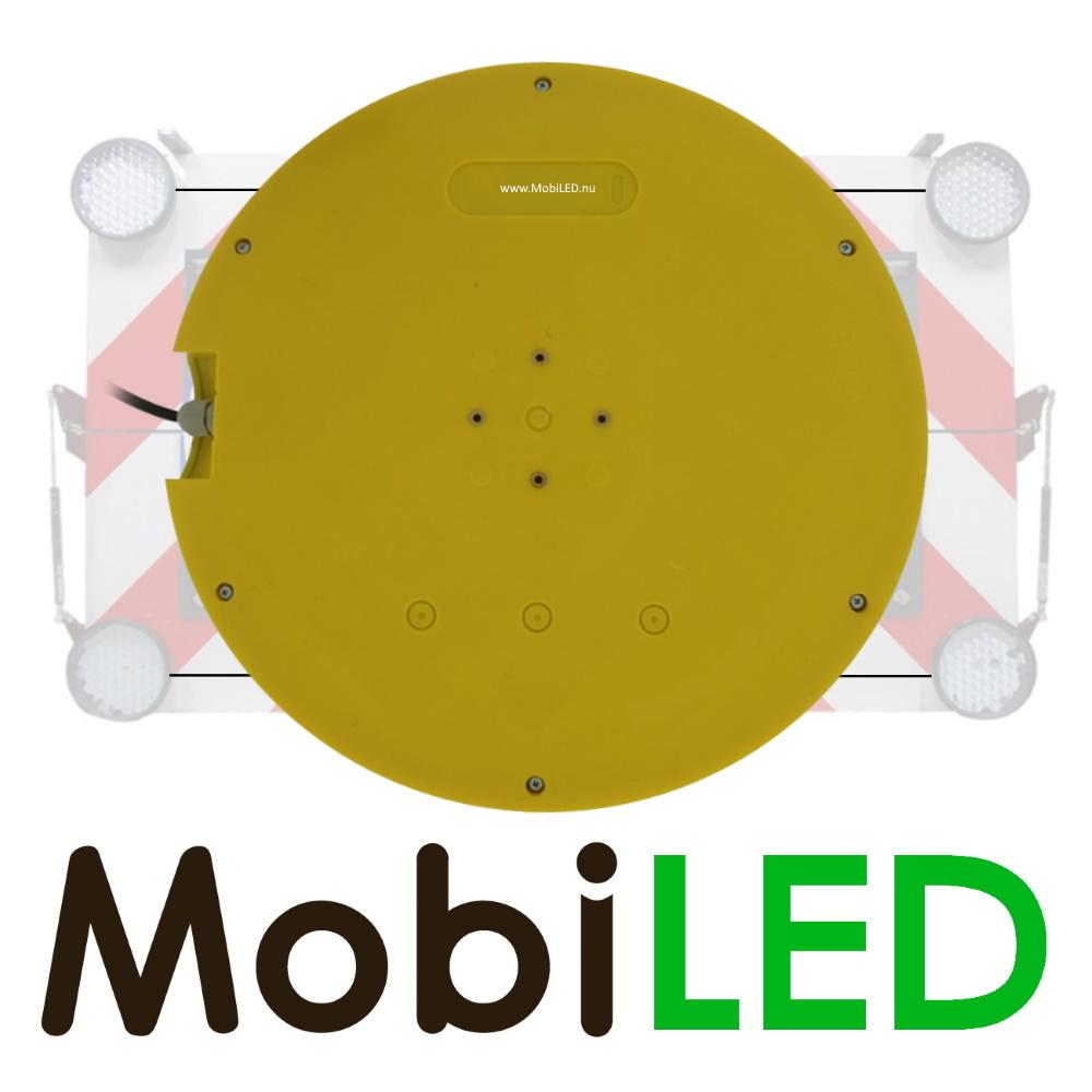M-LED SET Flitser 300mm met Controle-box (12 VOLT) amber voor actieraam