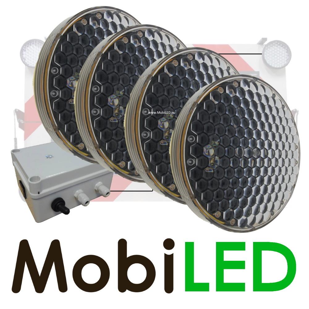 M-LED SET Flash 300mm avec boîtier de contrôle (12 volts) ambre