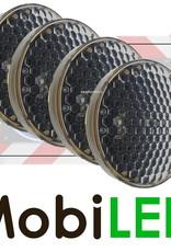M-LED M-LED Set 4 Flitser 300mm  (12-24 VOLT) voor actieraam