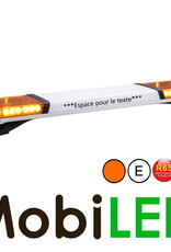 Barre flash 1194 MM ECE R10-R65 Ambre - texte