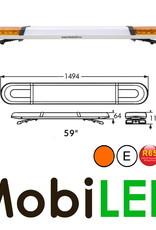 Barre flash 1494 ECE R10-R65 Ambre - texte