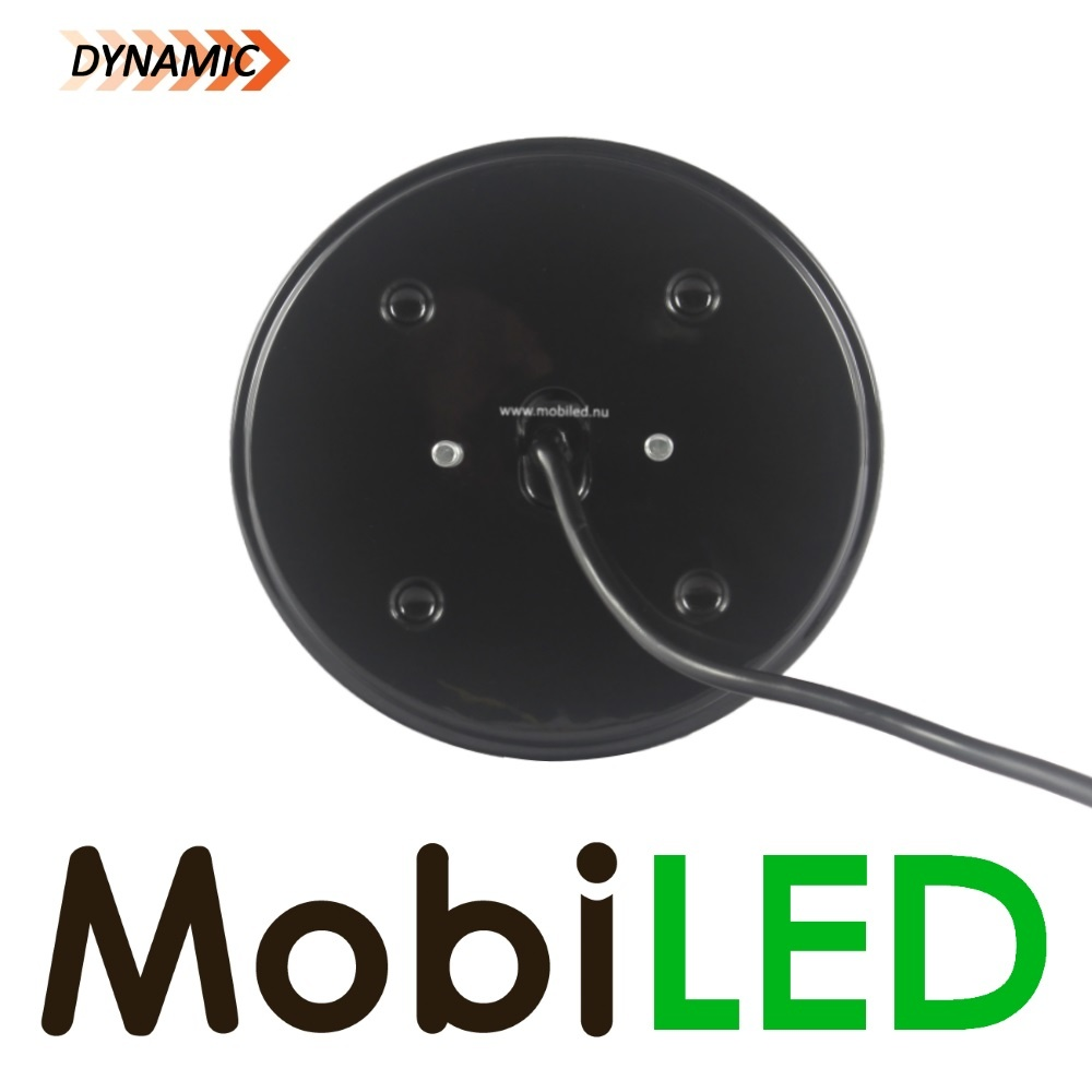 M-LED Dynamisch rond Mistlamp  links 3 functies