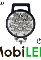 M-LED Feu de travail avec poignée et interrupteur 12- 24V
