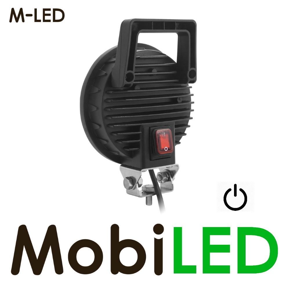 M-LED Werklamp met handvat en schakelaar 12-24 volt