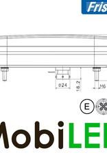 Fristom Feu arrière 12V Fristom série 270 Gauche brouillard / plaque d'immatriculation 5PIN E-mark