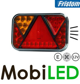 Fristom 12V Fristom 270 series links mistlamp/kenteken 5PIN