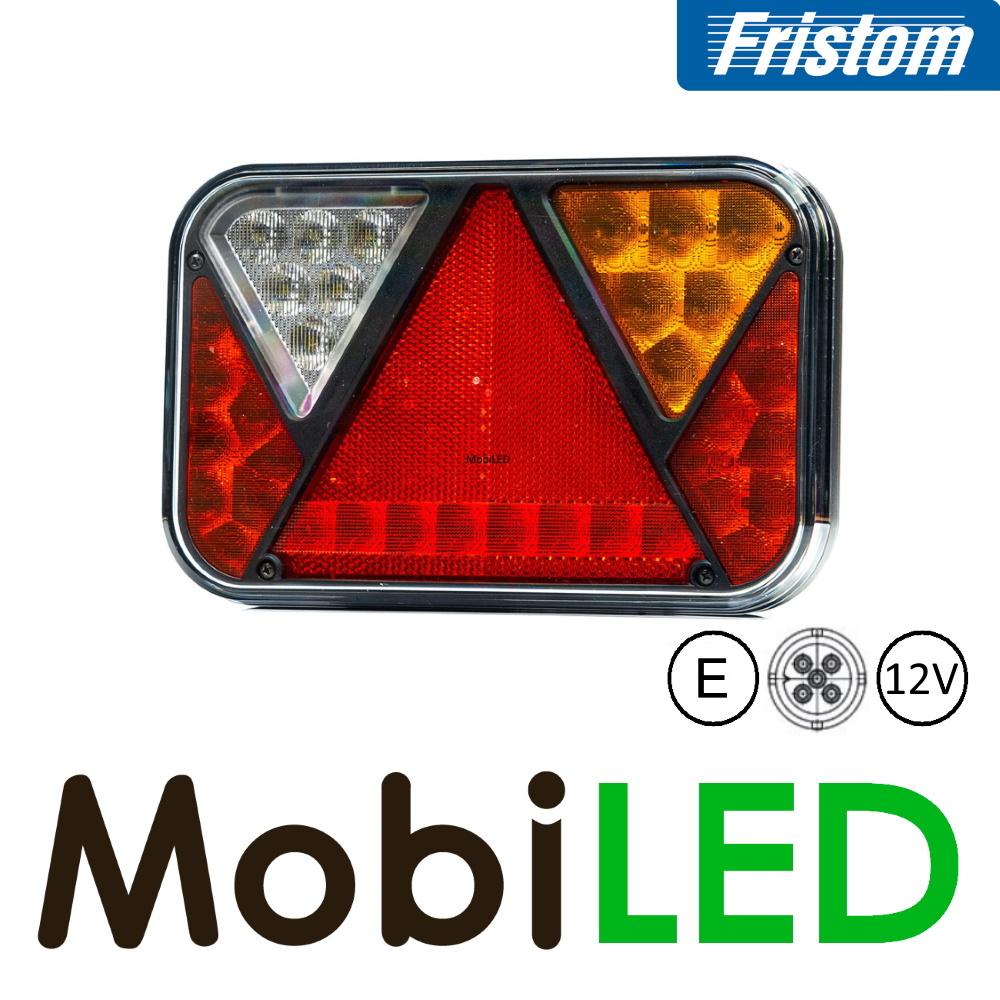 Fristom Feu arrière 12V Fristom série 270 droite Feu de recul  / plaque d'immatriculation 5PIN E-mark