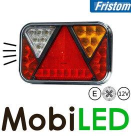 Fristom 12V Fristom 270 series rechts  achteruitrijlamp/kenteken 5PIN