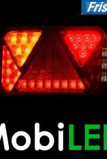 Fristom LED achterlicht  12V Fristom links 270 series links mistlamp 5PIN E-keur