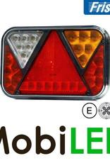 Fristom Feu arrière 12V Fristom série 270 droite Feu de recul  5PIN E-mark
