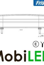 Fristom Feu arrière 12V Fristom série 270 Gauche brouillard / plaque d'immatriculation  E-mark