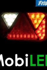 Fristom Feu arrière 12V Fristom série 270 droite Feu de recul  / plaque d'immatriculation  E-mark