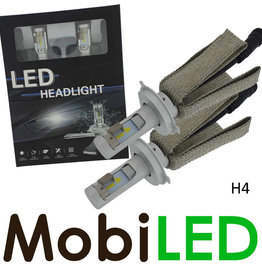 H4 led koplampenset compact fit G10 P-Series