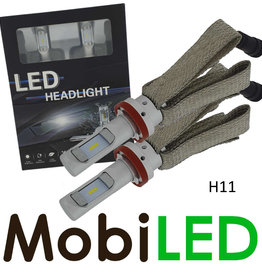 Ensemble de phares à LED H11 compact fit G10 Série P