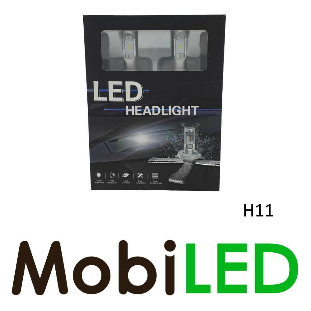 H11 led koplampenset compact fit G10 P-Series