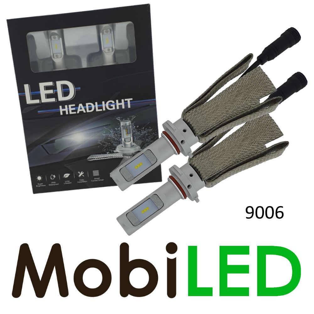 9006 LED phares ensemble raccord compact