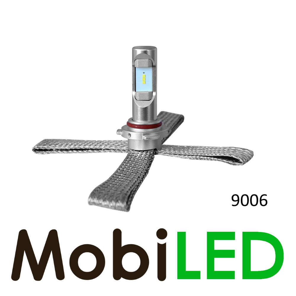 9006 led koplampen compact fit