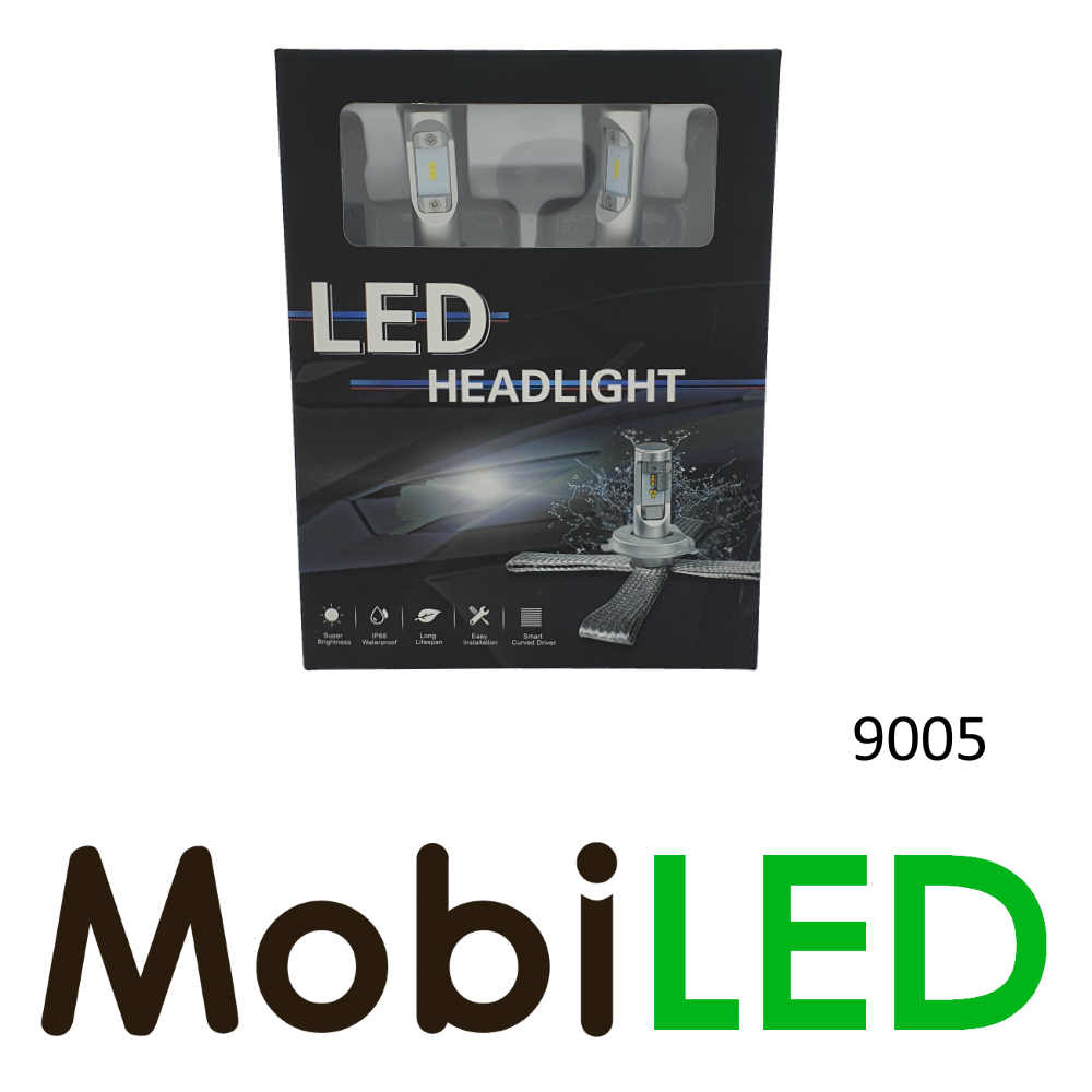 9005 led koplampen set Compact Fit