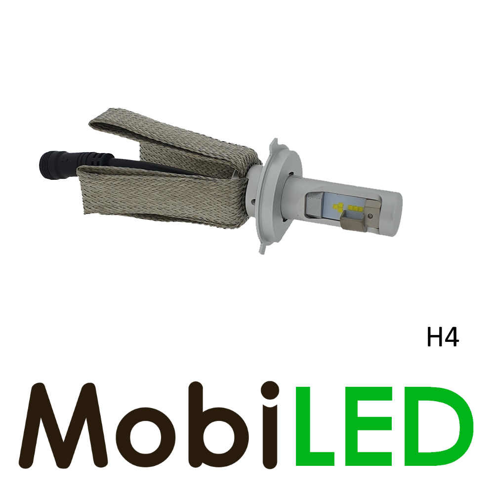 H4 LED phares ensemble raccord compact