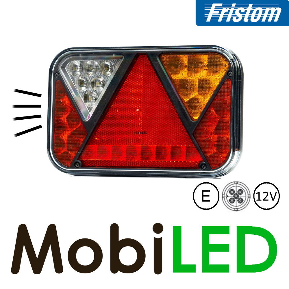Fristom Fristom 270 series kentekenverlichting 5PIN - Set - 12V - E-keur
