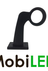 HORPOL Rubberen zijpaaltje, zonder verlichting, Deens model