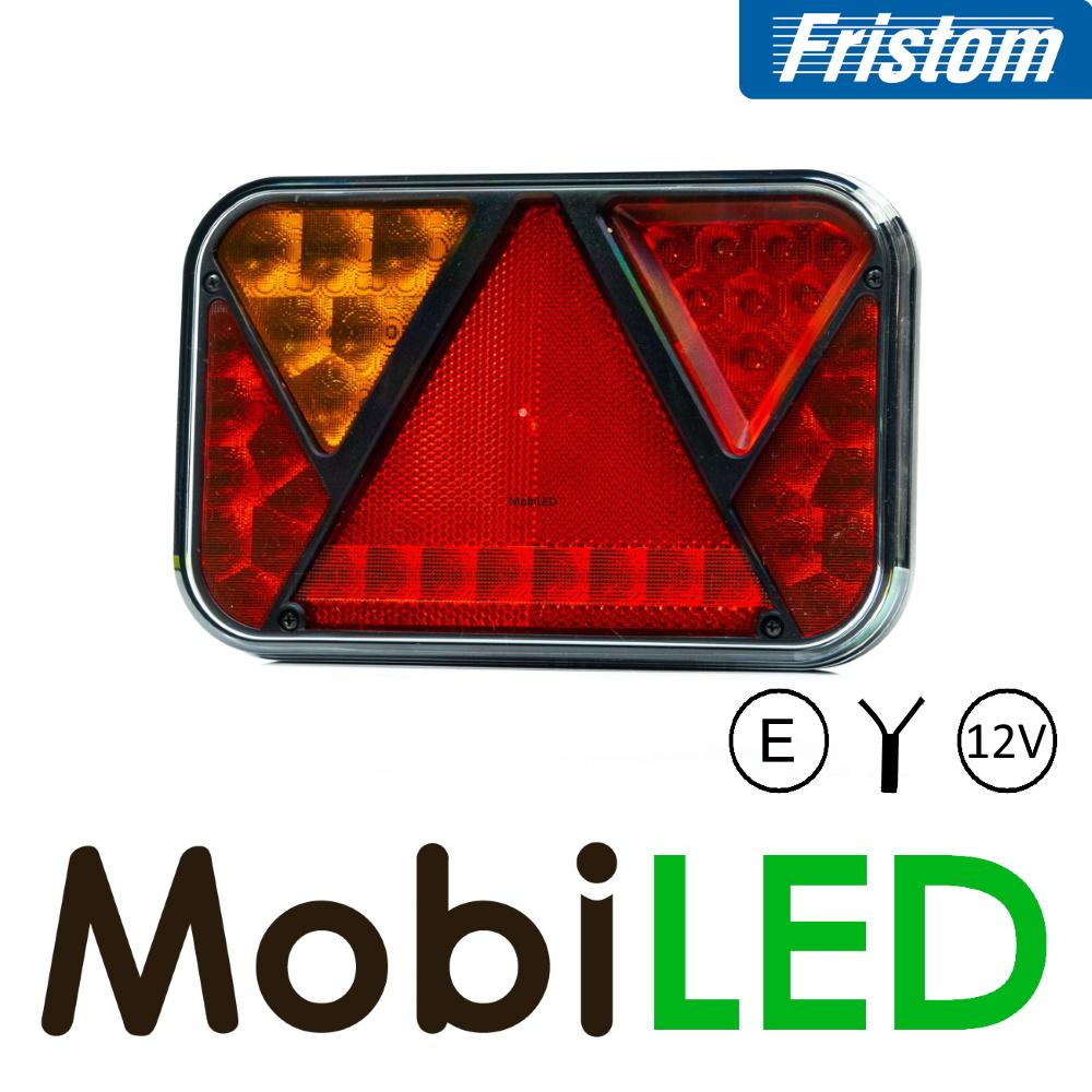 Fristom Set Fristom série 270 éclairage plaque d'immatriculation - 12V - E-Mark