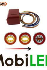 Dynamic indicator module 24 V