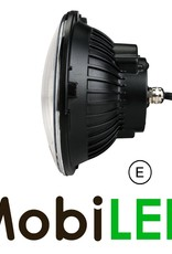 Phare LED Feu de position 7 pouces Chrome E-marque