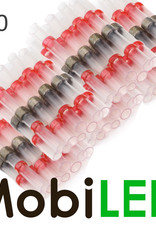 50x Kabelverbinder met tin en krimpkous 0.5-1.5mm2