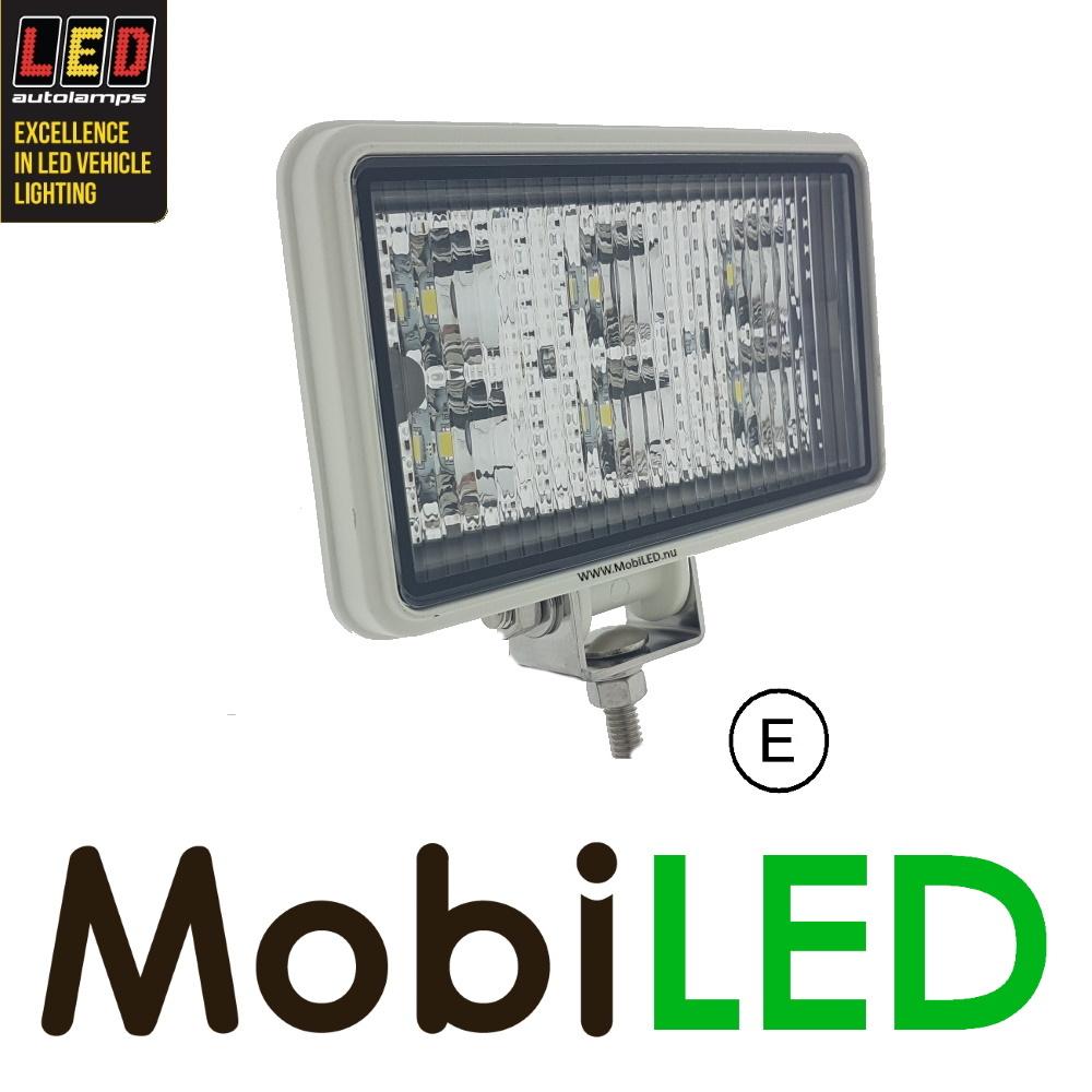 LED autolamps LED breedstraler wit E-keur rechthoekig
